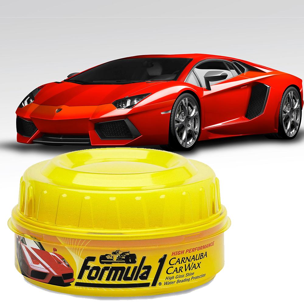 Висококачествена полир-вакса за автомобили CARNAUBA CAR WAX FANTASTIC 1, защита до 12 мес.