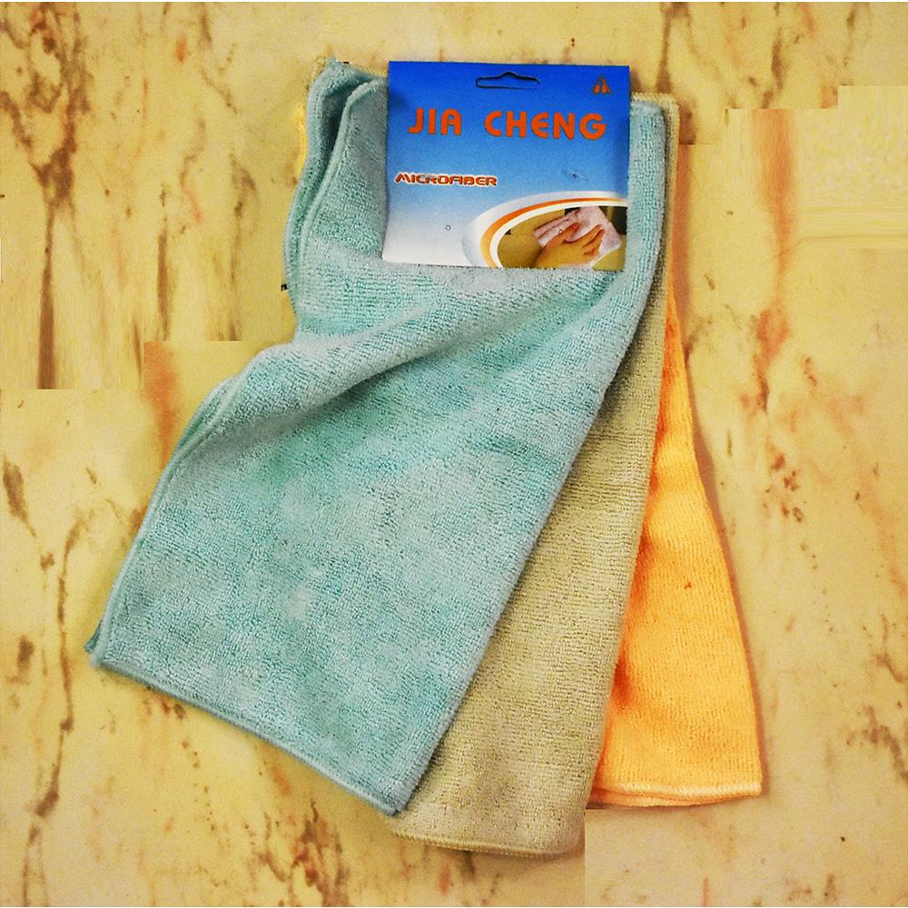 3 меки супер абсорбиращи микрофибърни кърпи за почистване и подсушаване