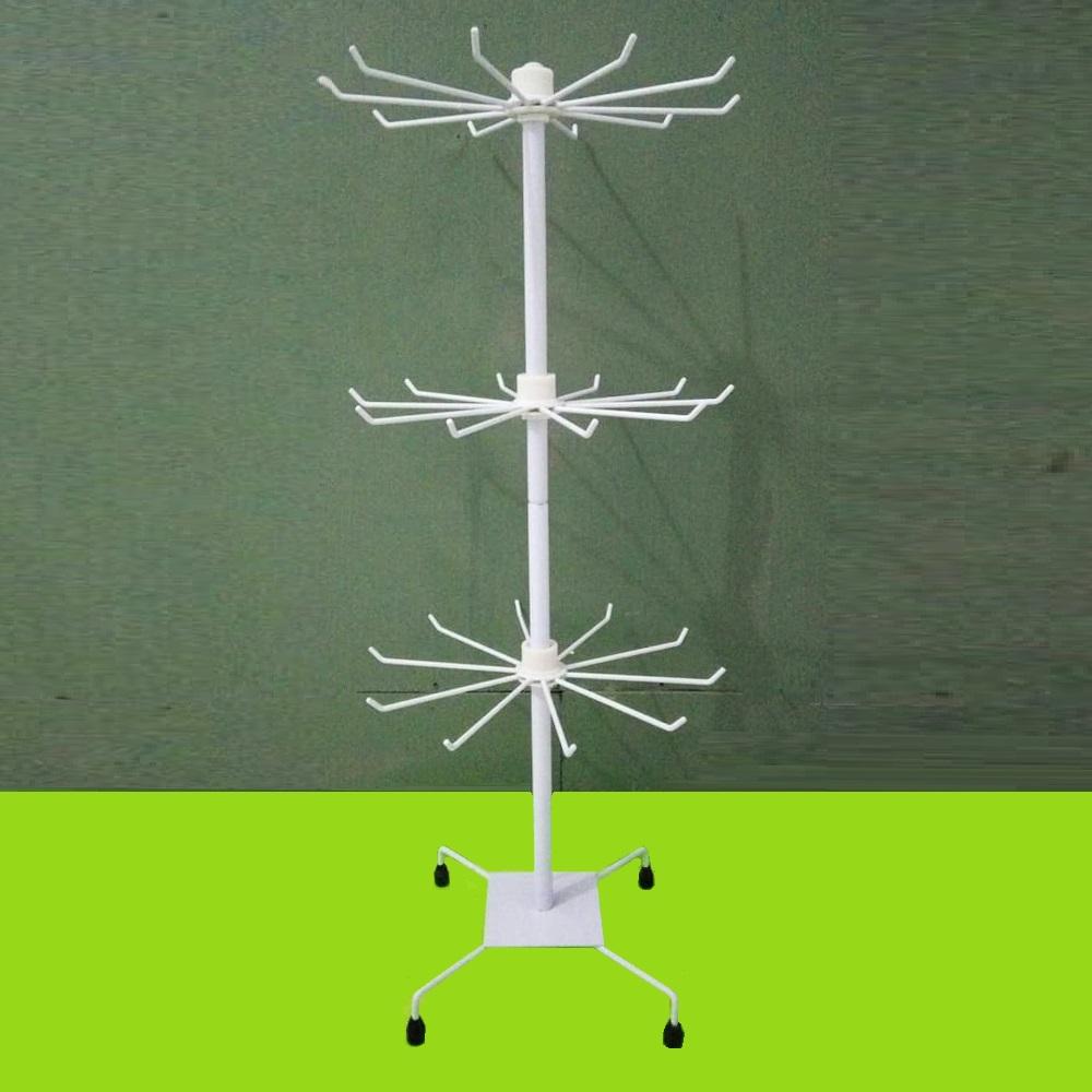 Супер функционална въртяща се стойка - стелаж на 3 нива, за стоки, бижута, бельо и др.