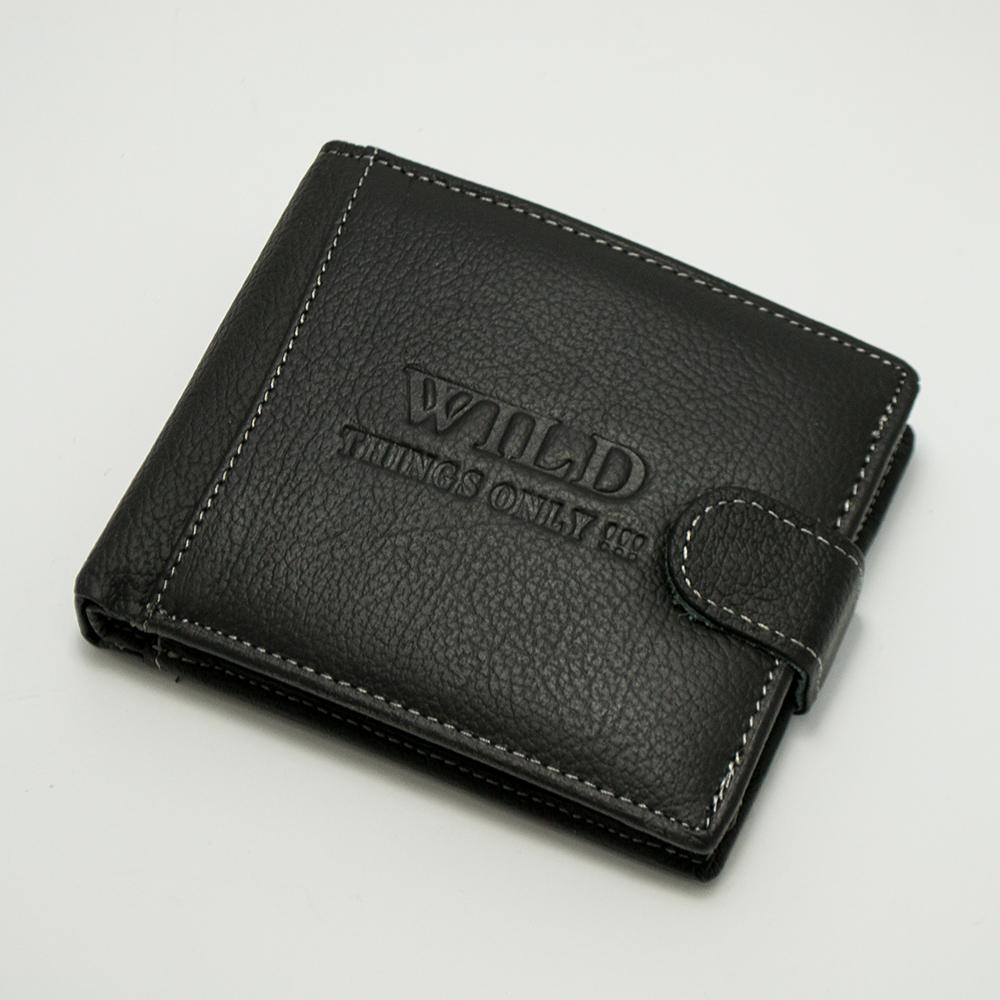 Елегантен мъжки портфейл DOS&CTOBONA WILD 31067 MAX, естествена кожа