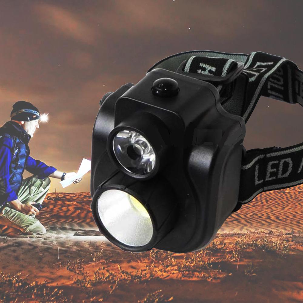 СУПЕР РАЗПРОДАЖБА: мощен двузонов LED  челник LY-5