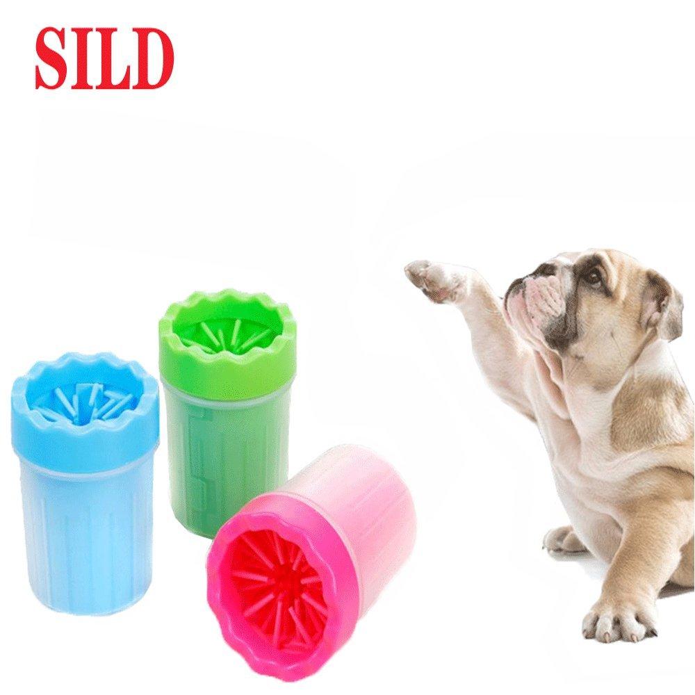 Измий лапите на кученце лесно и бързо с SGSB - силиконова чаша-четка за лапи, за до 10 кг