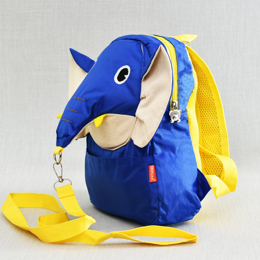 Детска раница Синьо СЛОНЧЕ 31574,  BLUE ELEPHANT