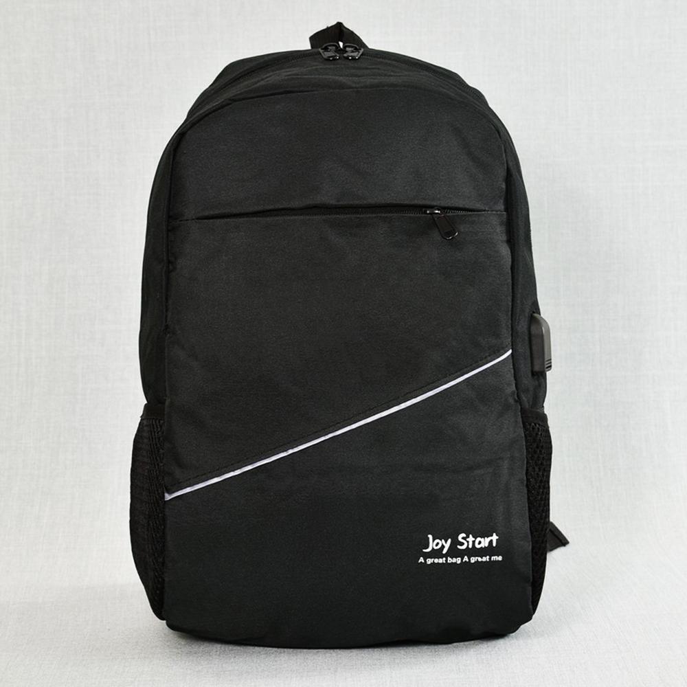 Лека защитена USB раница за лаптоп  JPY START 31590 BLACK