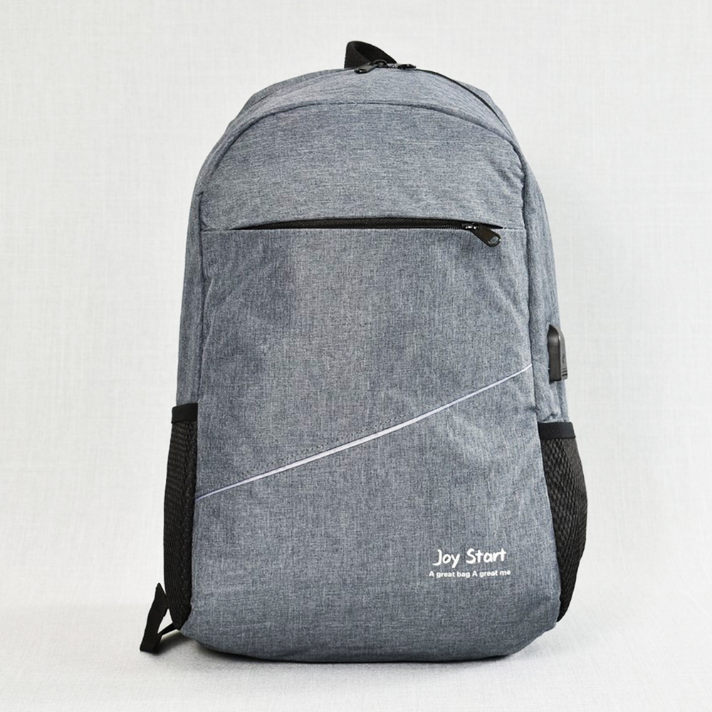 BF SALE: Лека защитена USB раница за лаптоп  JPY START 31590 GREY