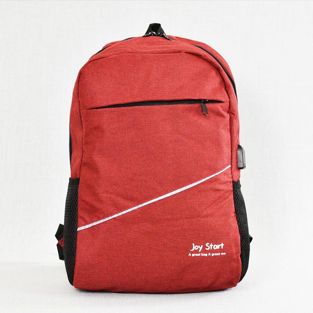 BF SALE: лека защитена USB раница за лаптоп  JPY START 31590 RED