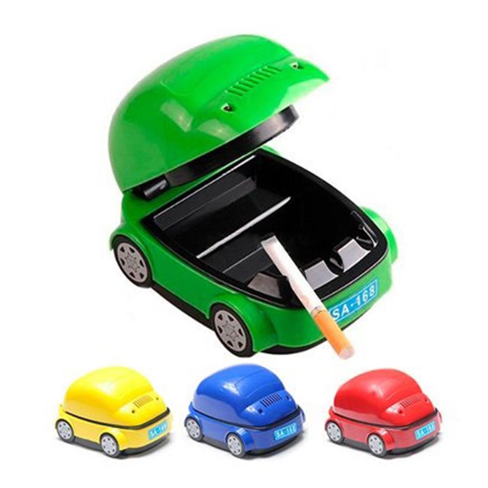 Херметичен USB пепелник с вентилатор CAR ASHTRAY - абсорбира дима и миризмата