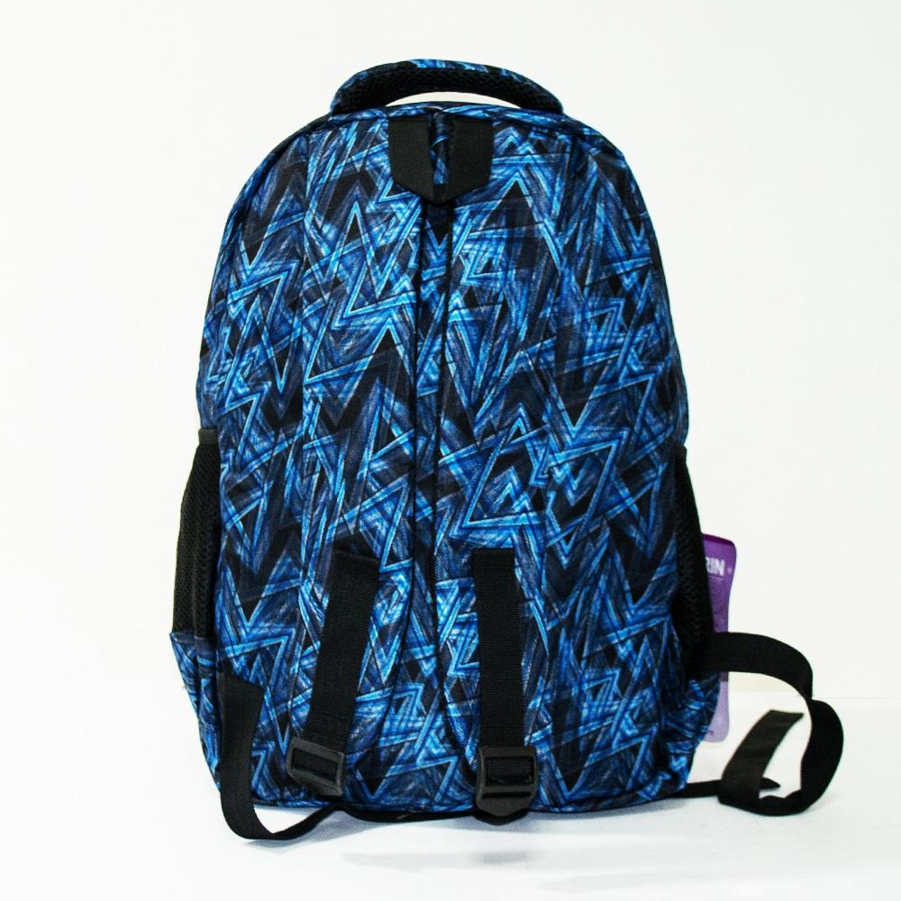 Здрава ученическа раница MARVEL NEW WINNING 3453 BLUE, 42 см, за туризъм и спорт