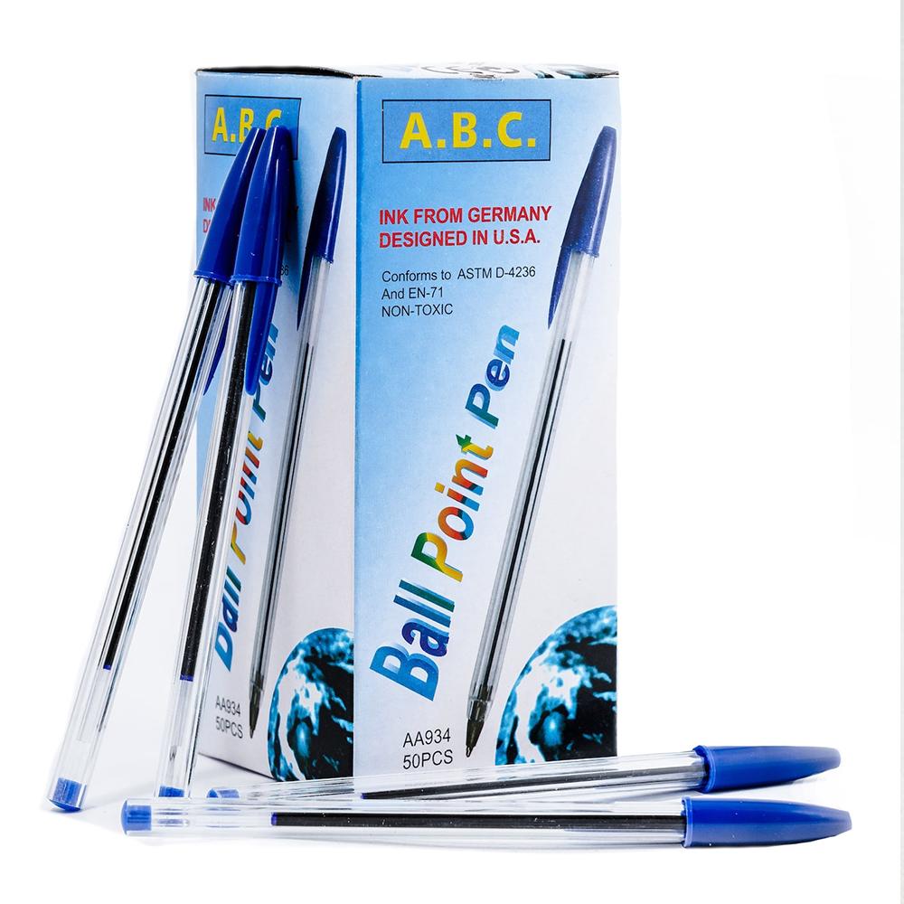 Промо от BIC: 50 броя първокласни сини химикалки, немско мастило, американски дизайн
