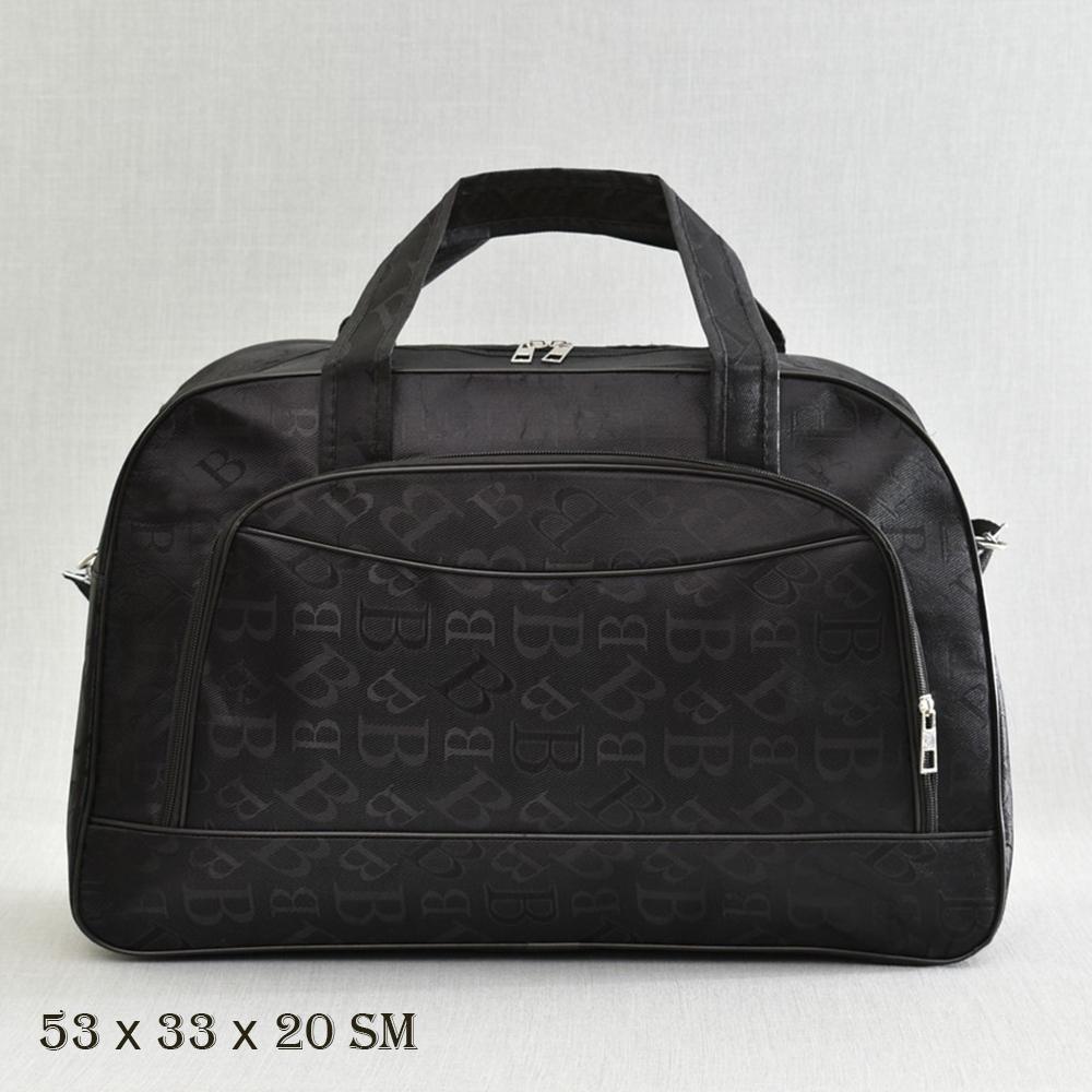 Великолепна пътна чанта  MIDDLE  B BLACK 13-128