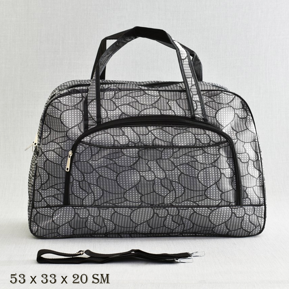 Великолепна пътна чанта  MIDDLE  G SILVER 13-128
