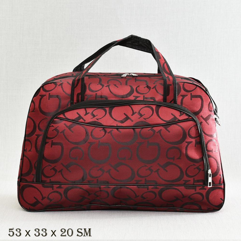 Великолепна пътна чанта  MIDDLE  G BORDEAUX 13-128