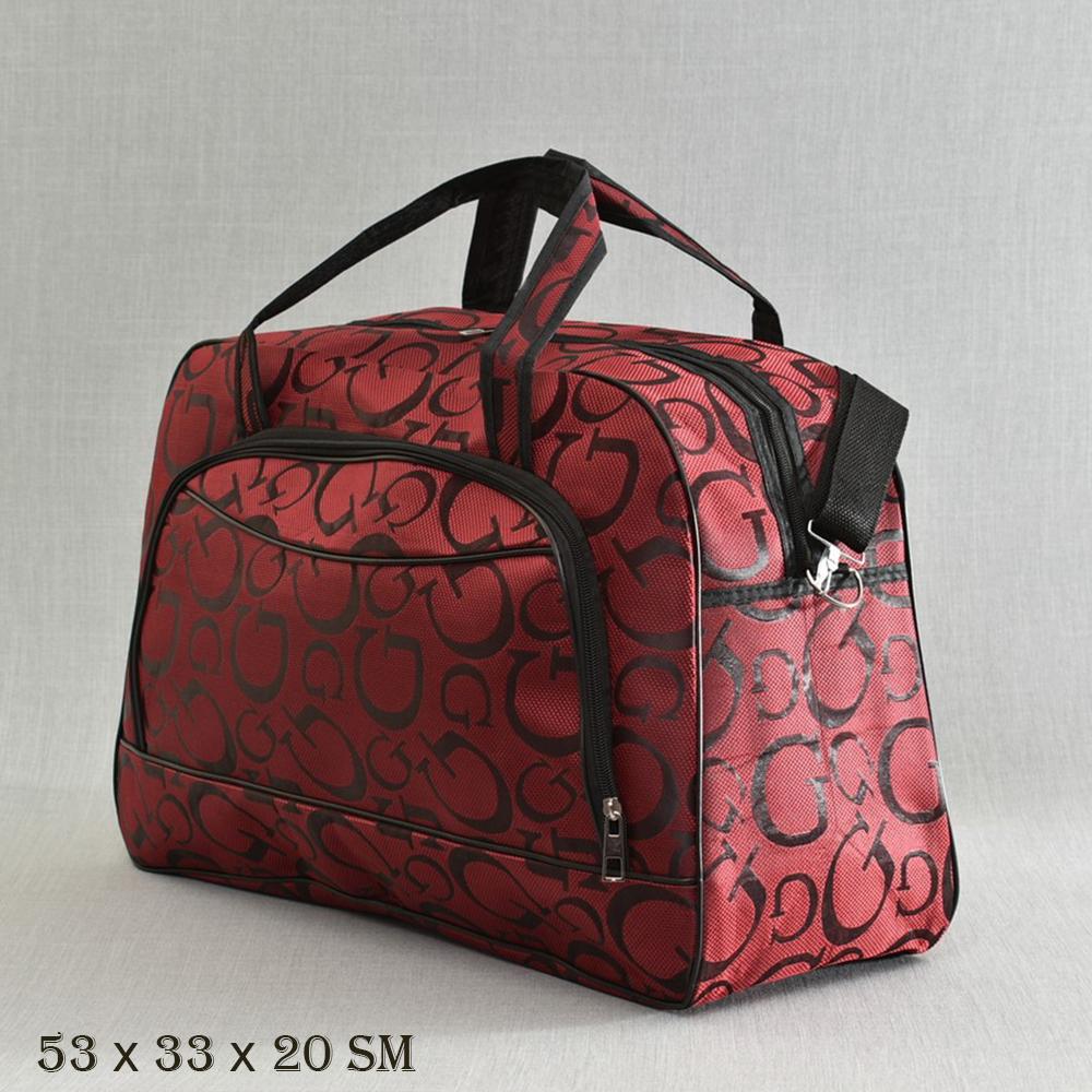 cd26a20f66c Великолепна пътна чанта MIDDLE G BORDEAUX 13-128