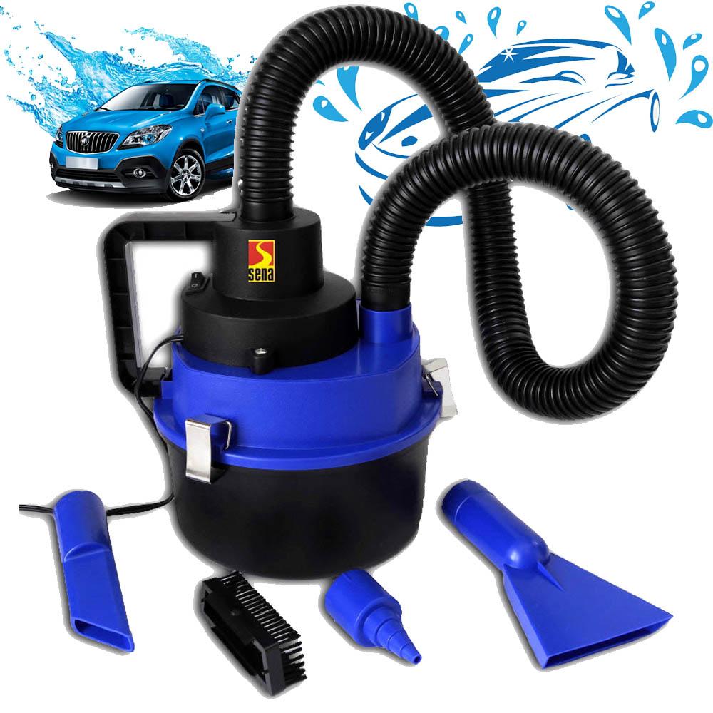 Мощна авто прахосмукачка за мокро и сухо чистене SENA AUTO VAC 12V 150W