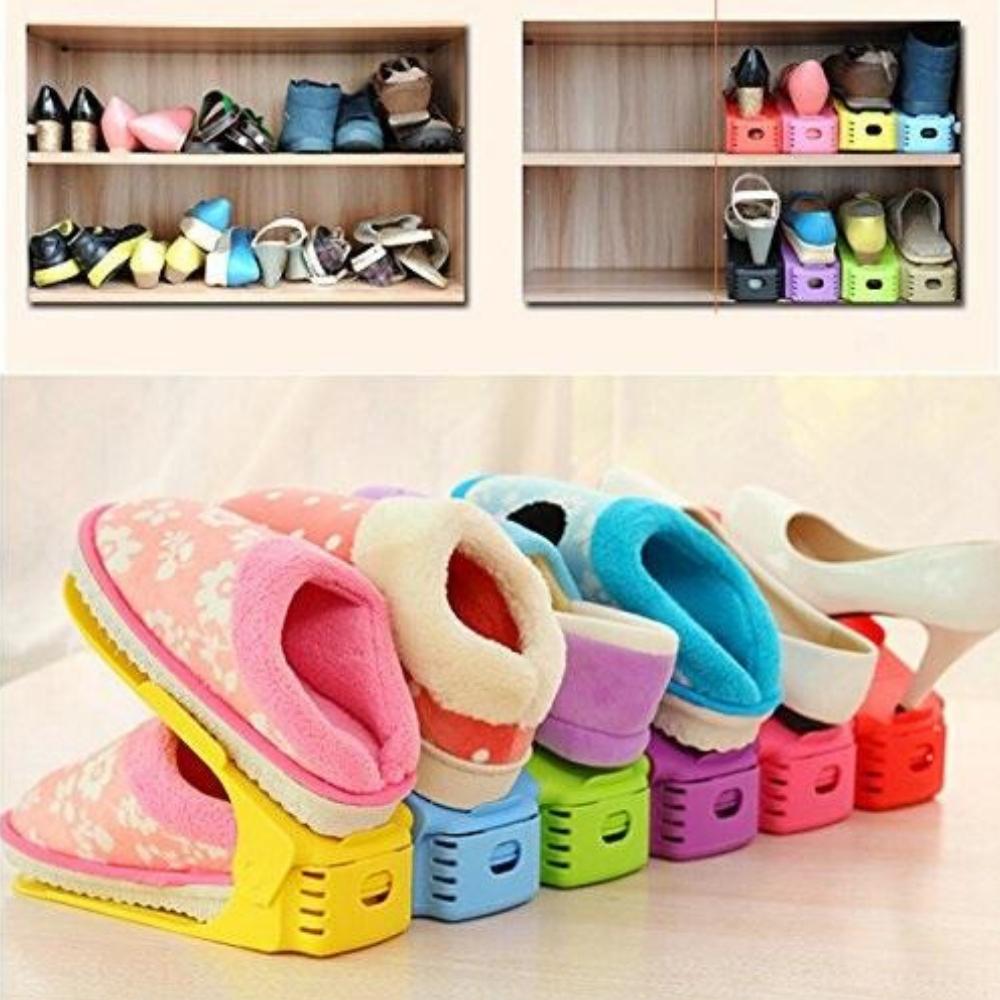 Поставка за чифт обувки обувки SHOE COMPACT пести място и подрежда обувките, органайзер