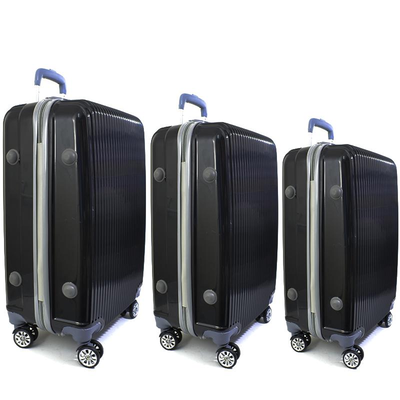 СУПЕР ПРОМО: комплект 3 броя  твърди и леки спинър-куфари URBAN BUSINESS 6003/009-2, ABS