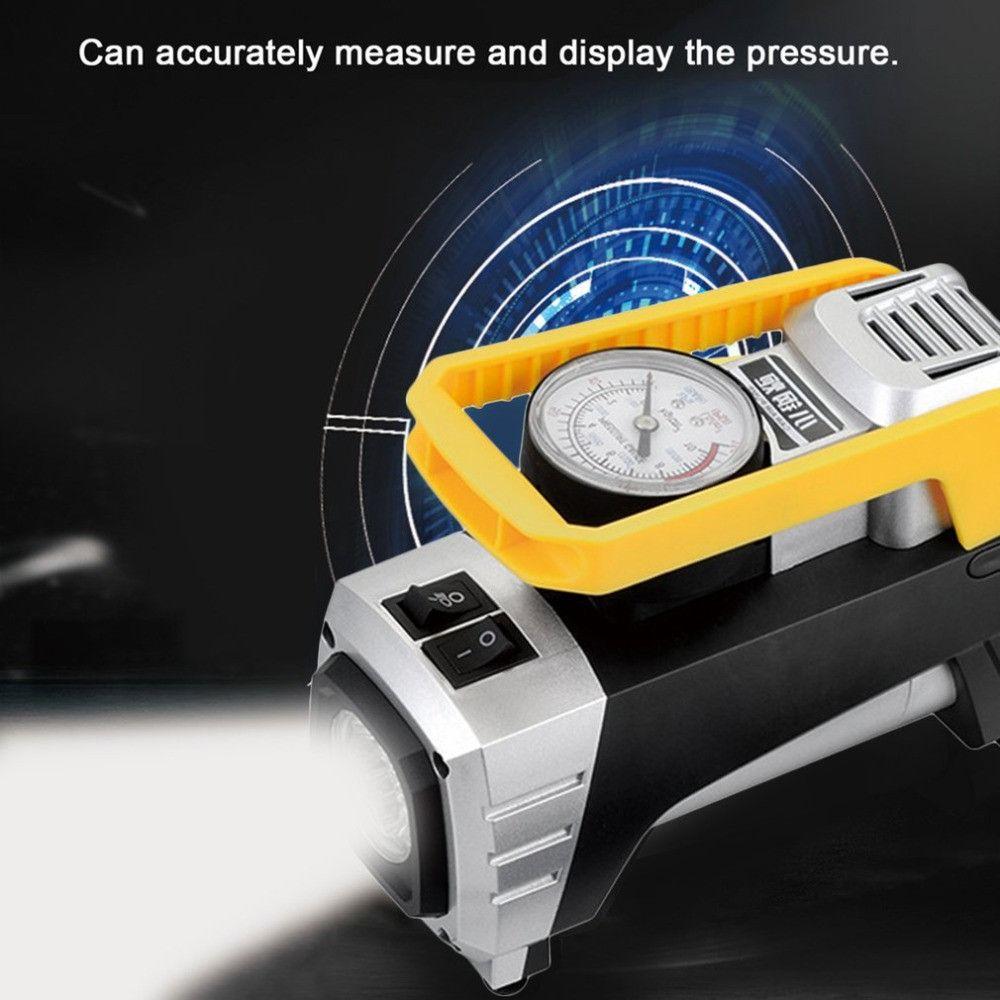 Луксозен SOS автокомплект YY3618: компресор,инструменти,залепване на гуми,куфар,триъгълник