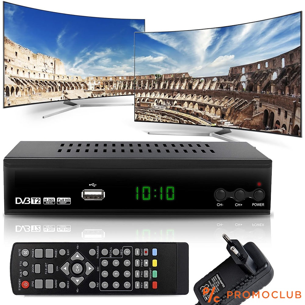 Ефирен цифров декодер DVB T2 с всички SMART екстри- безплатна цифрова телевизия, и за МПС