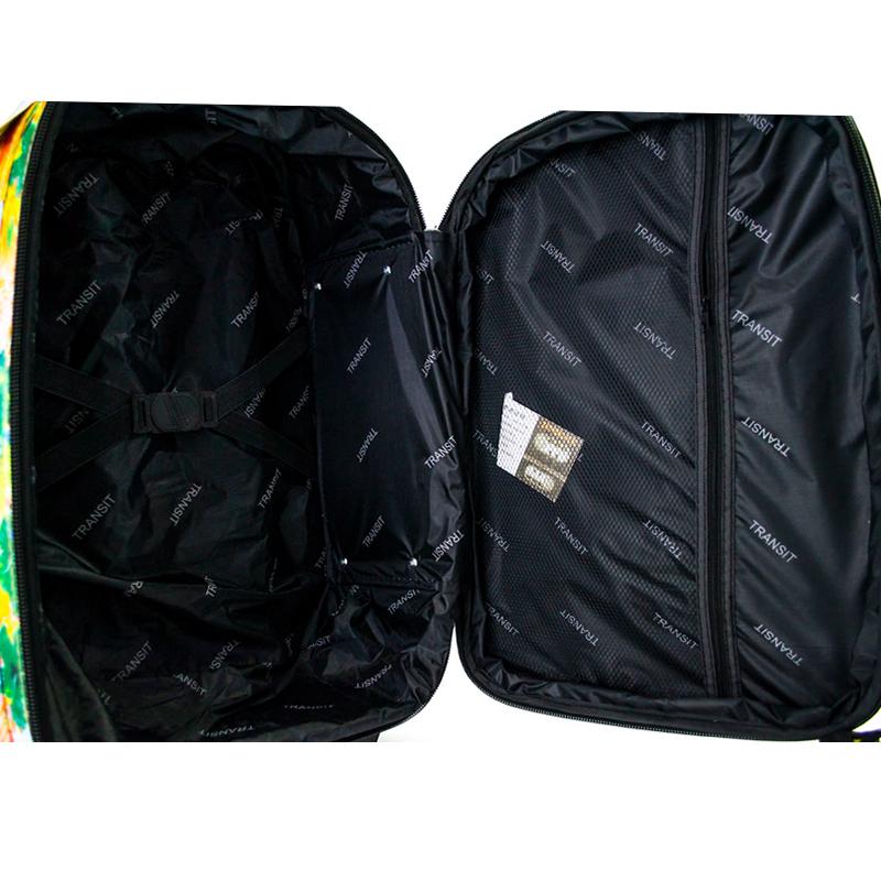 3 разширяващи се куфара TRANSIT 611, вграден механизъм, твърд гръб