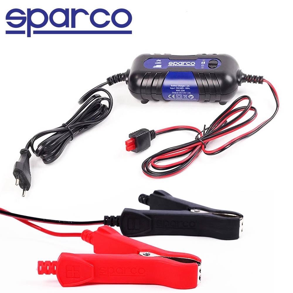 Интелигентно SPARCO авто зарядно устройство за акумулатори SPT500 6V/12V 22W 1.2A