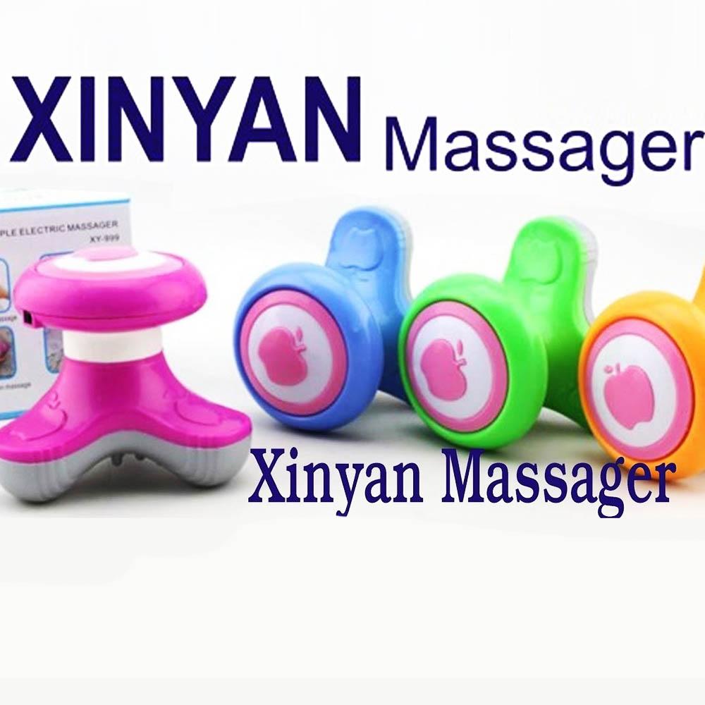 Ултразвуков мини масажор APPLE XINYAN, на батерии и USB кабел