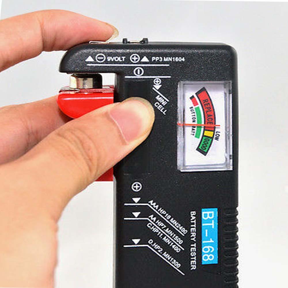 Моментален тестер за всякакви видове батерии Battery Tester BT-168
