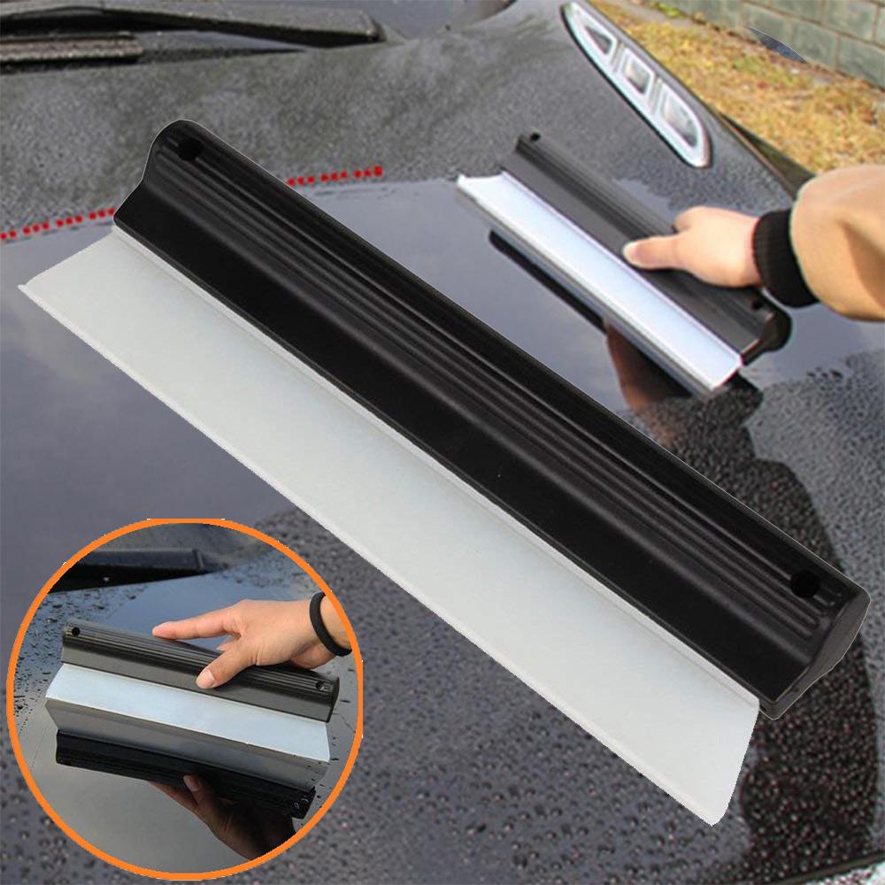 Професионално силиконово перо с ръб за подсушаване на автомобили и стъкла