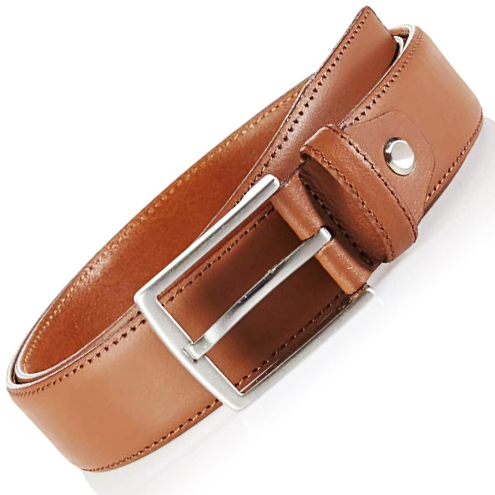 BF SALE: английскиъжки кожен колан MLT TOKIO RANCH Classic Brown, 95 см, 100% кожа