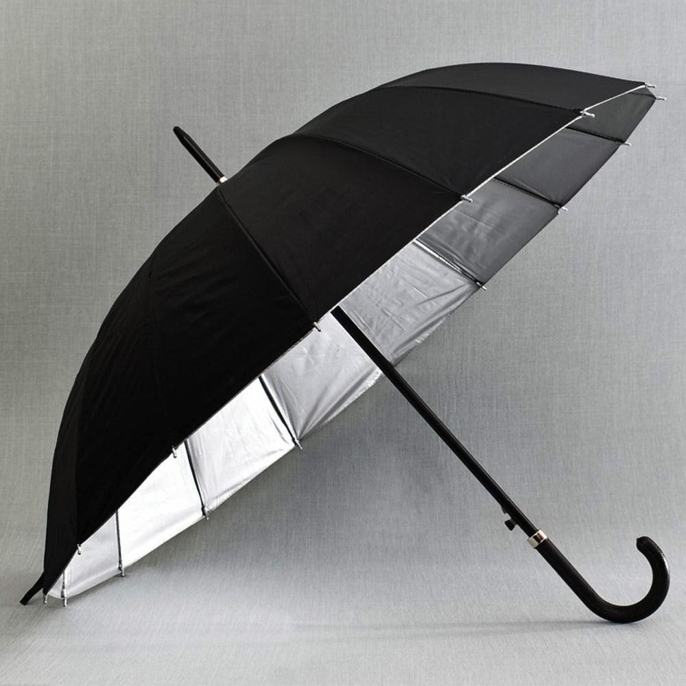 SUPER SALE: голям мъжки чадър CLASSIC 21957,  16 спици, D94 см