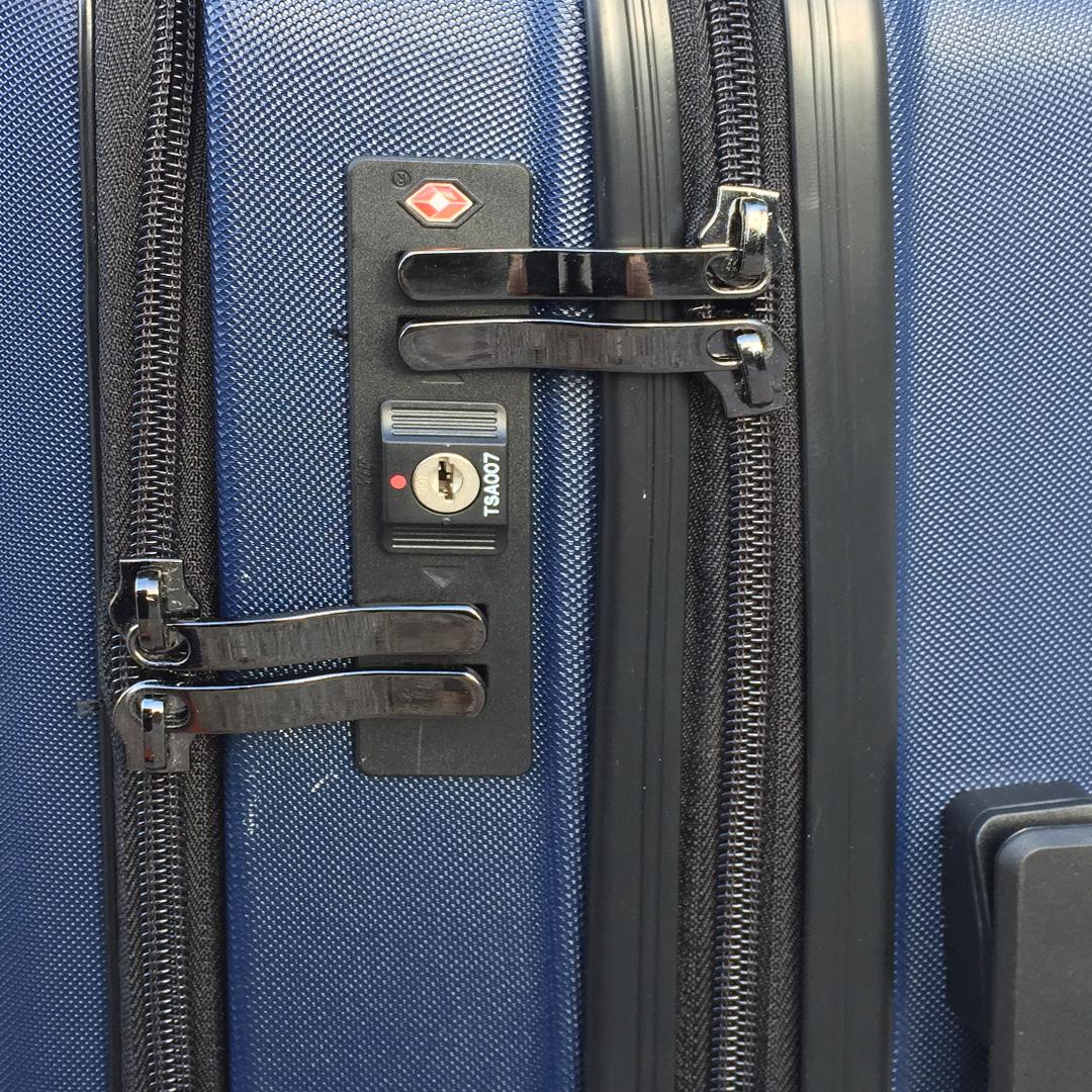 Куфар с отделение за лаптоп UNIWALKER BUSINESS 5021 BLUE, 55 x 37 x 24 см