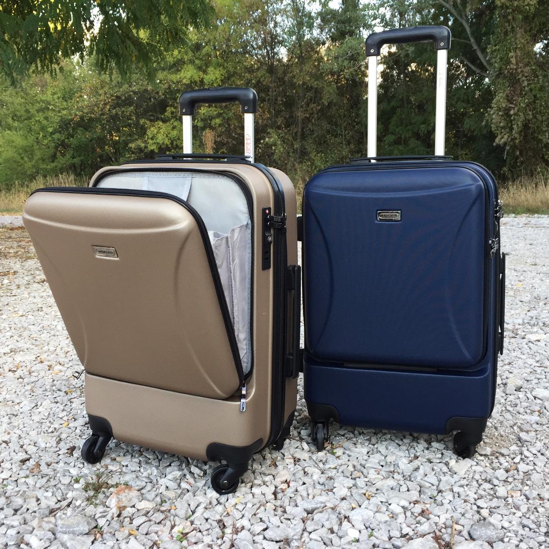 Куфар с отделение за лаптоп UNIWALKER BUSINESS GOLD, 55 x 37 x 24 см