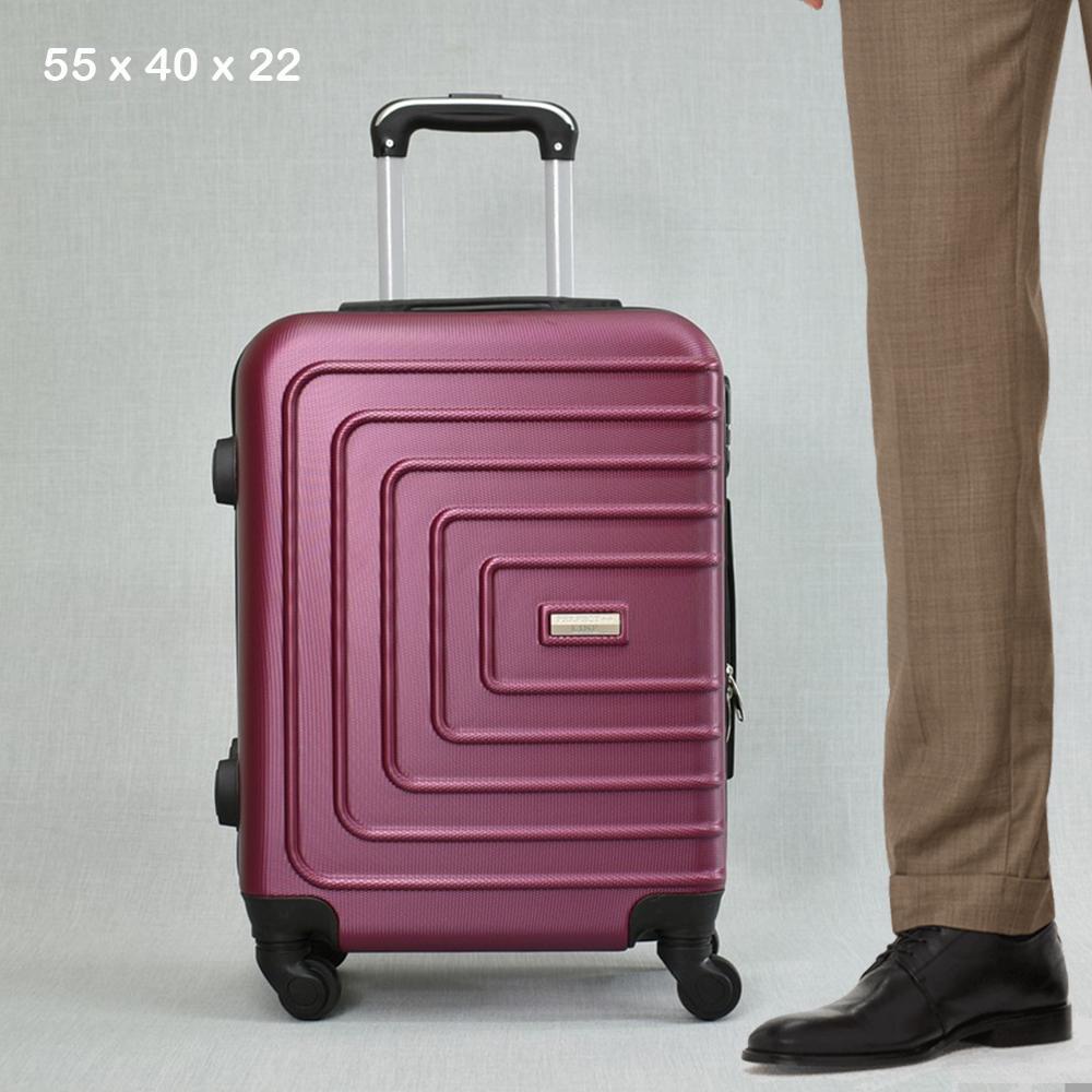 ТОП ЦЕНА:  ABS спинър за ръчен багаж PL107 RED, 55x40x22, пластмаса