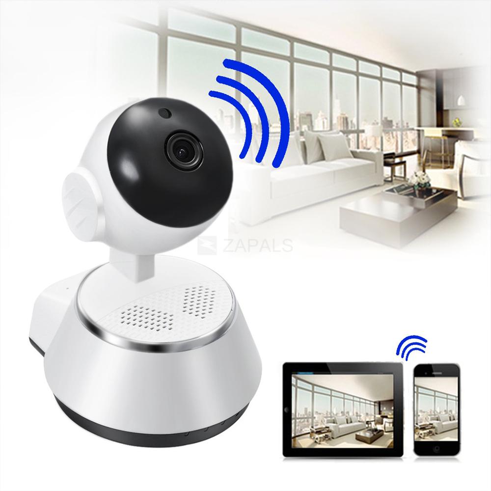 BF SALE: охранителна WiFi камера HD2MPx, IR, бебефон, microSD, дистанционно управлeние
