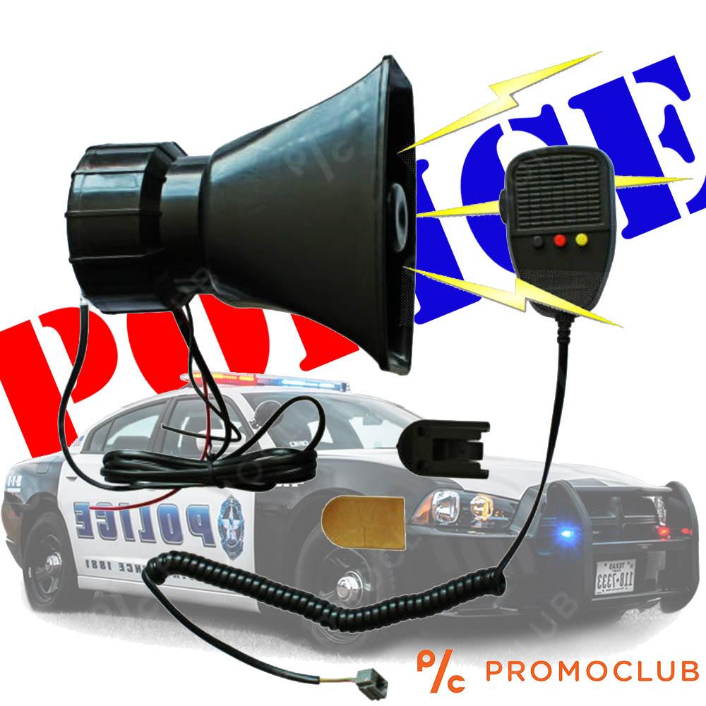 Мощна авто сирена с микрофон JK529, 12V/50-60W, А-CLASS