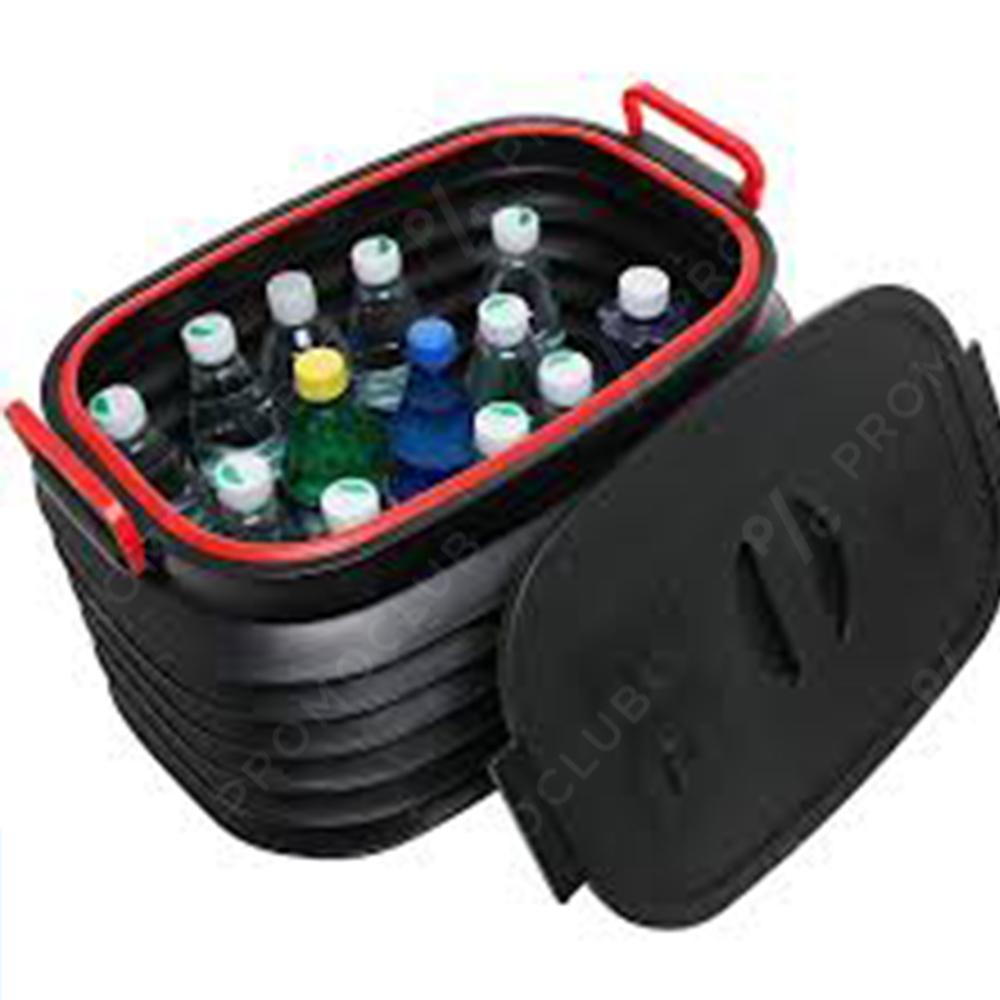 Сгъващ се херметичен пластмасов авто органайзер COLLAPSIBLE PLASTIC BOOT ORGANISER 18L