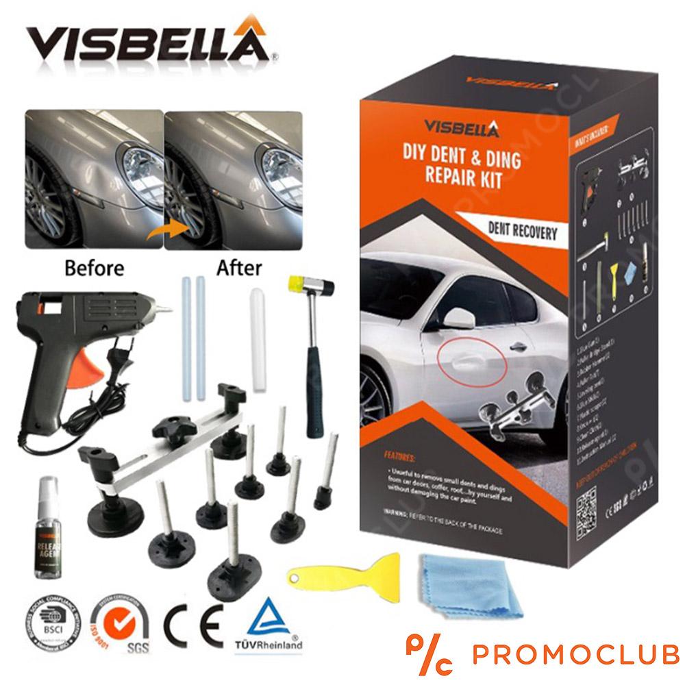 Професионално изправяне на авто вдлъбнатини пълен комплект VISBELLA DENT REPAIR KIT 182682