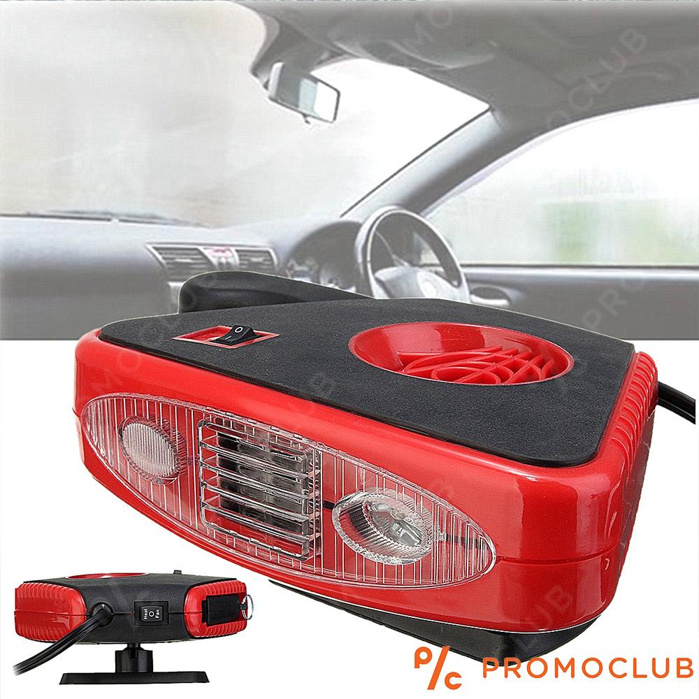 Aвто печка за размразяване DEFROST FAN 2200 2in1 с LED светлина 150W, 12V, №182518