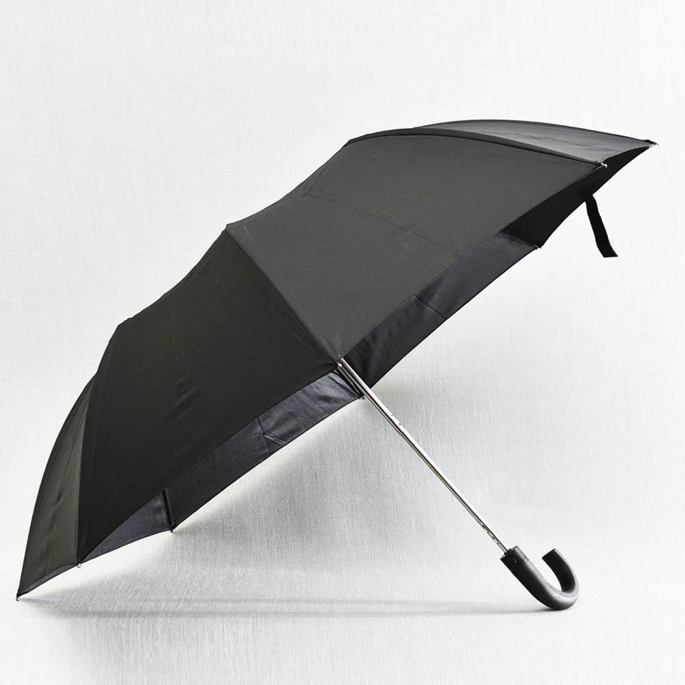 Класически мъжки автоматичен сгъваем чадър UMBRE 2601, диаметър 91 см