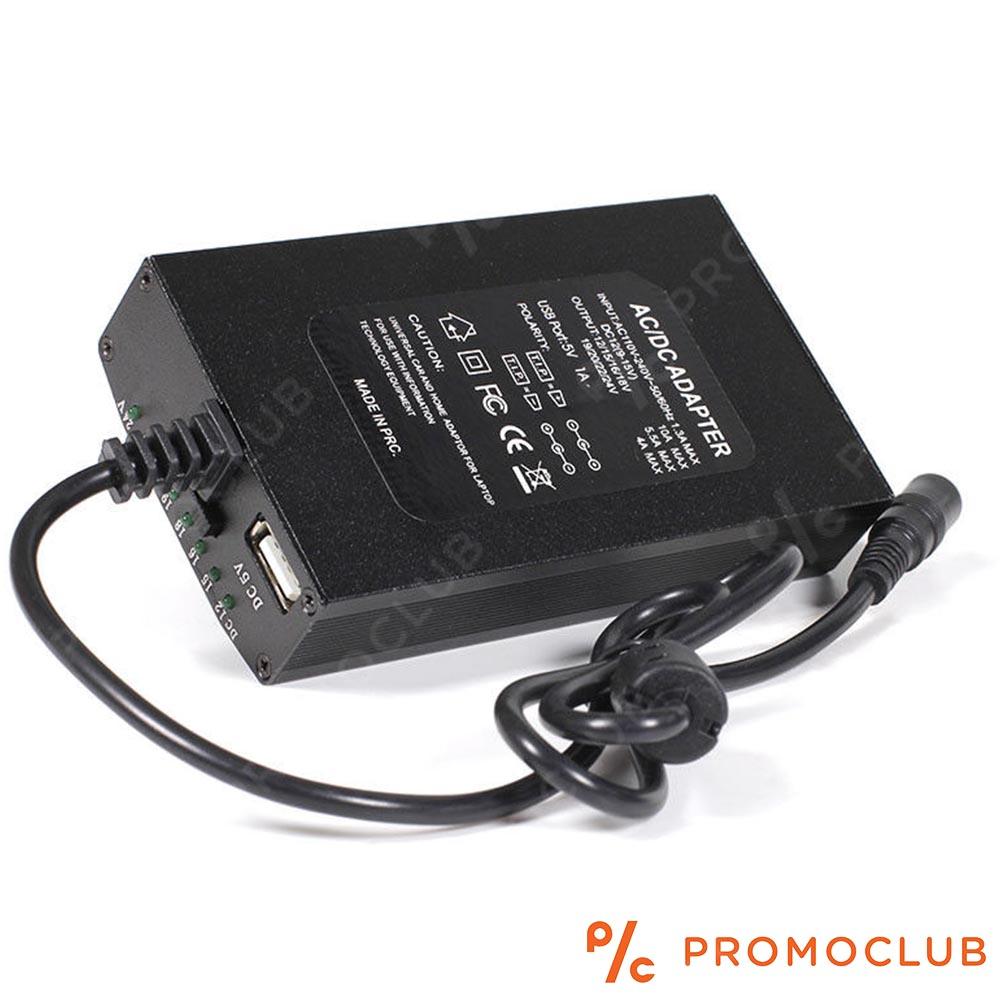 Универсално зарядно за лаптопи 120W за 12V в кола и за ел. мрежа:POWER INVERTER OVER WORLD