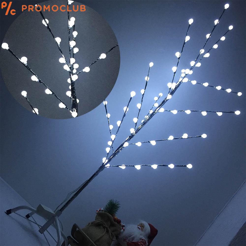 Сребърно-бяла коледна елха SNOW WHITE, бели лампички, 125 см височина, 5 режима на светене