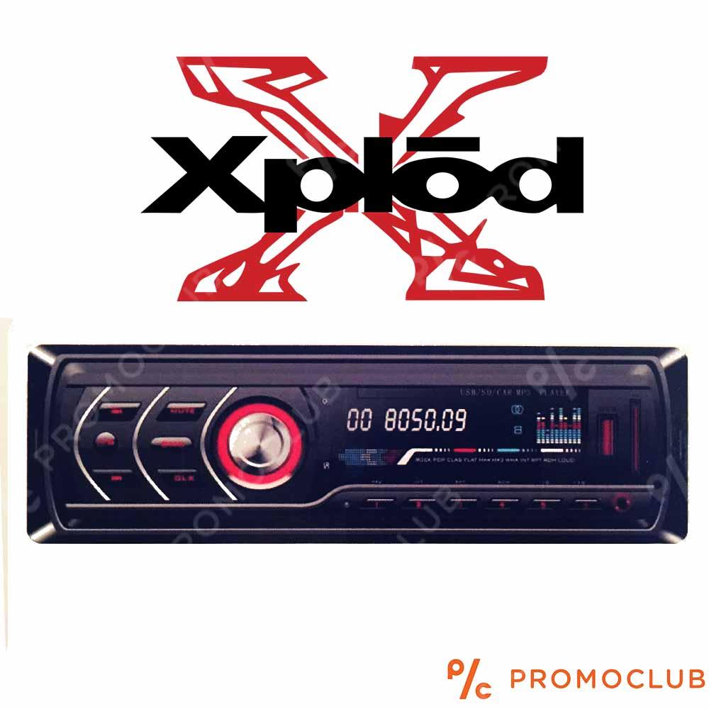 Мощно авто стерео с блутуд XPLOD ZAPPIN BT, 4x40W, MP3, FM, SD, USB
