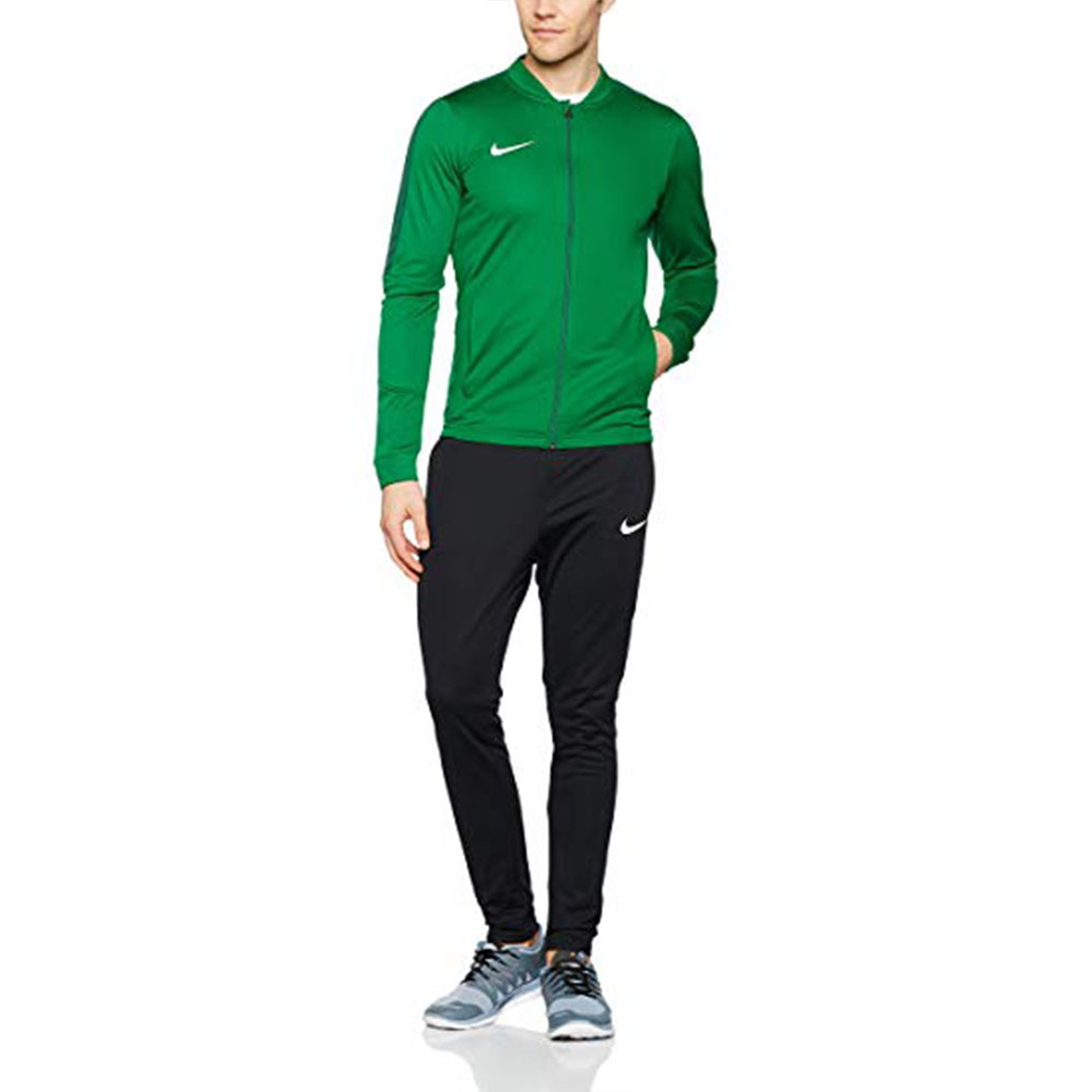 NIKE DRY FIT спортен комплект-висок клас, M размер, зелен