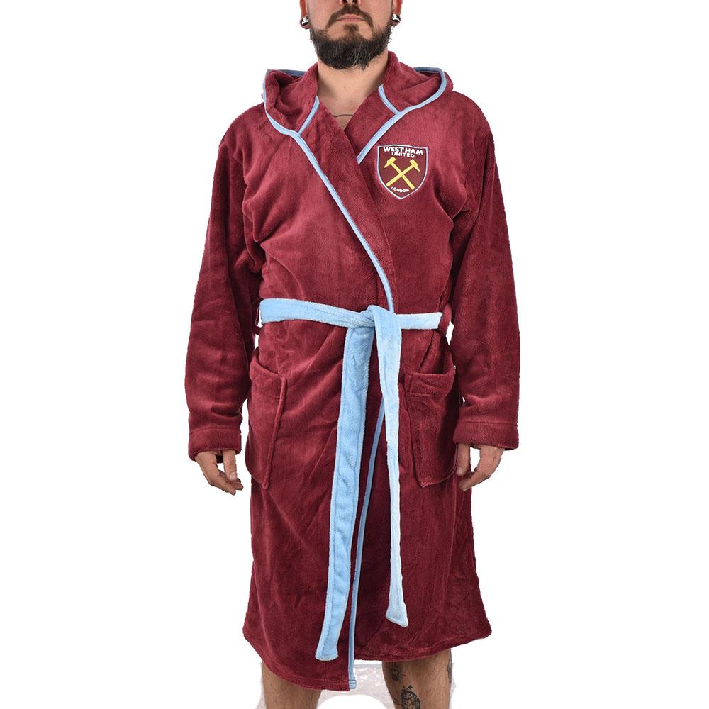 Мъжки халат на Футболен клуб WEST HAM UNITED, M размер
