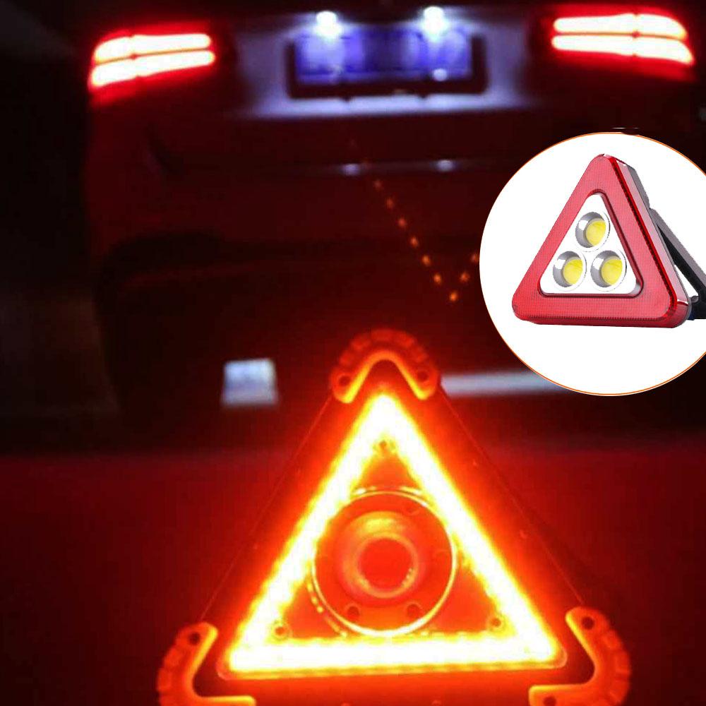 Електронен LED авариен триъгълник- лампа, МУЛТИФУНКЦИОНАЛЕН HS-8017
