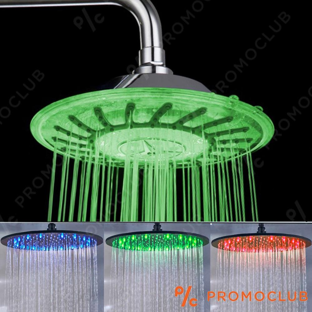 BF SALE: LED пита за душ свети с температурата на водата - самозахранваща се