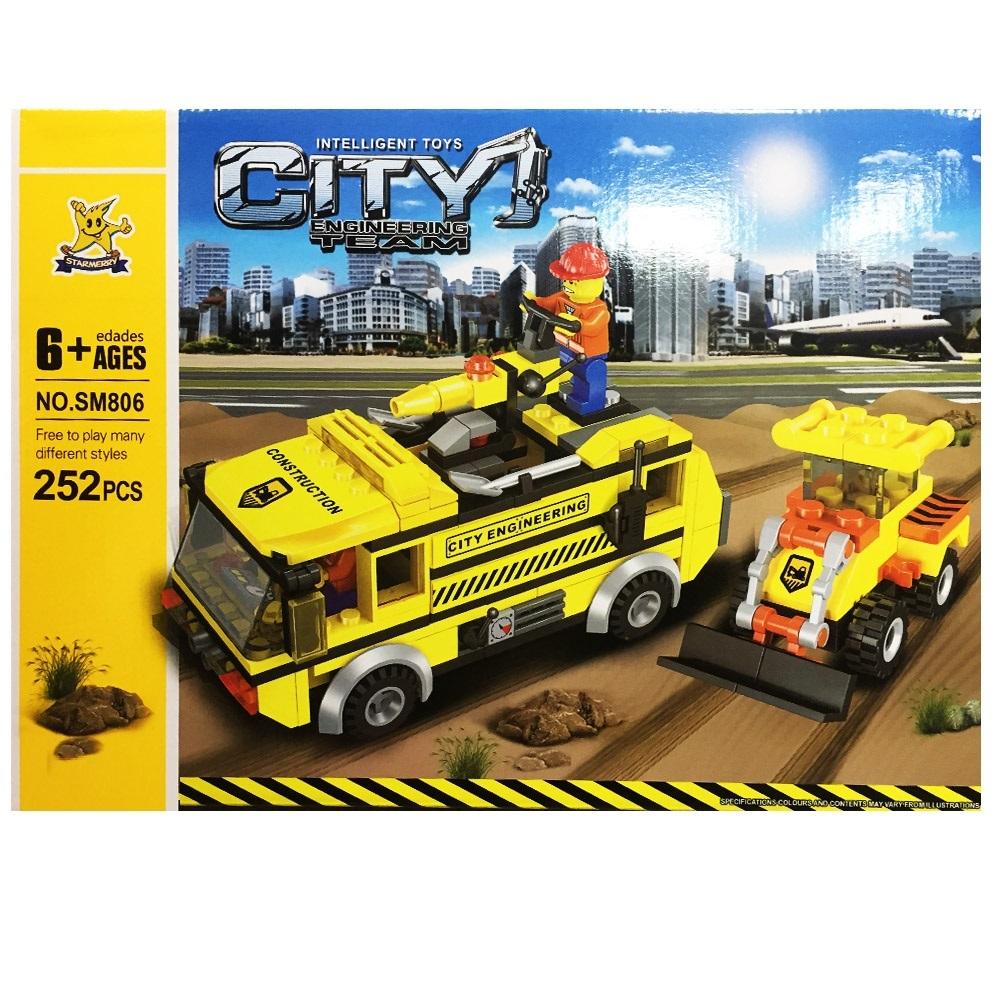 Голям CITY Конструктор Тип ЛЕГО В 252 Части, 6+