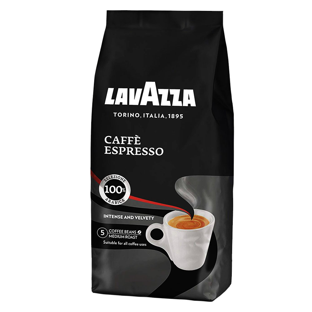 Кафе Lavazza Espresso на Зърна, Intense and Velvety, 250 г., 100% арабика, 100% аромат