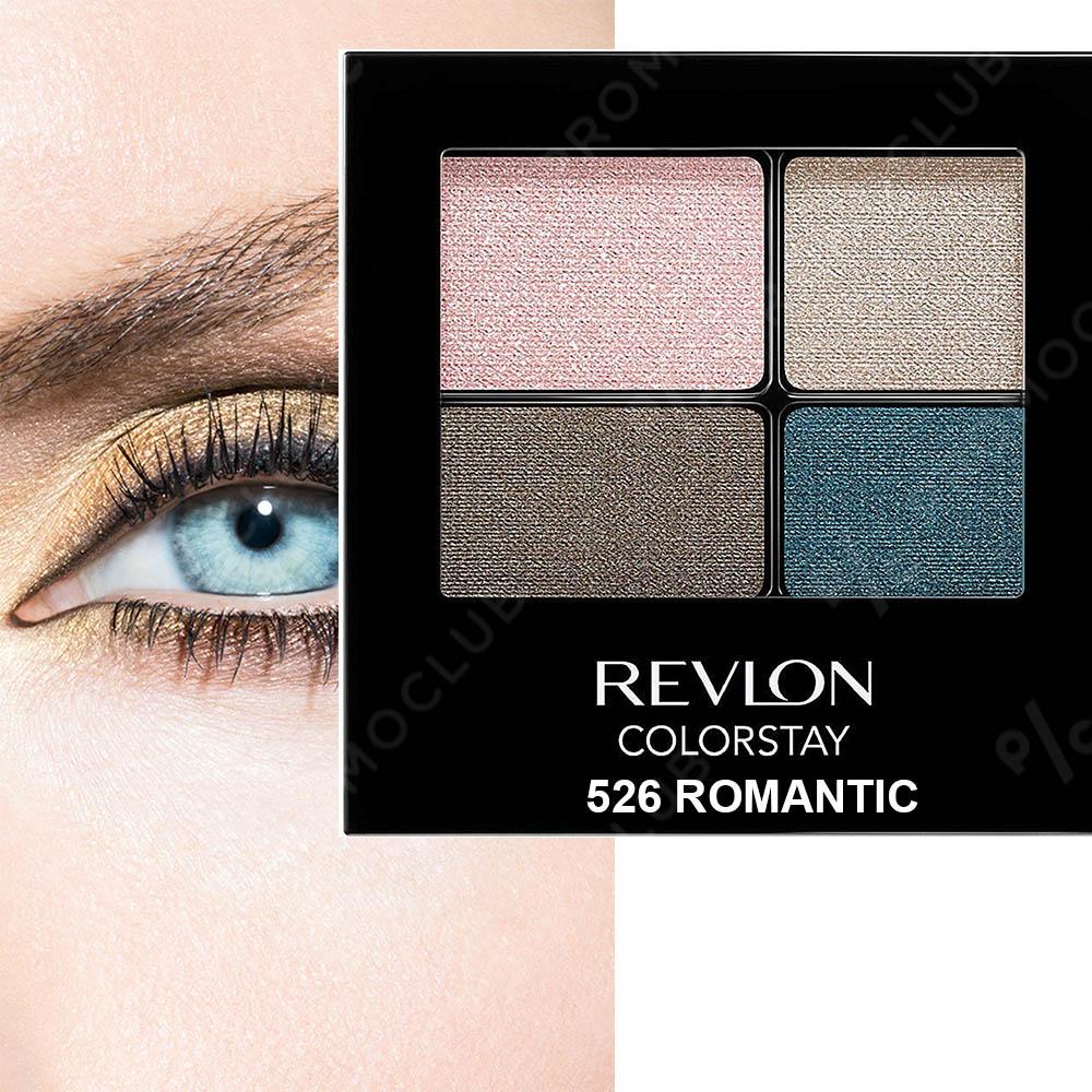 REVLON 526 Romantic четворни сенки за очи