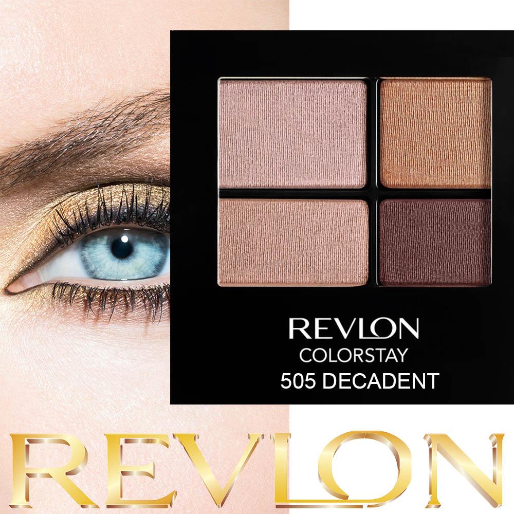 REVLON 505 DECADENT четворни сенки за очи