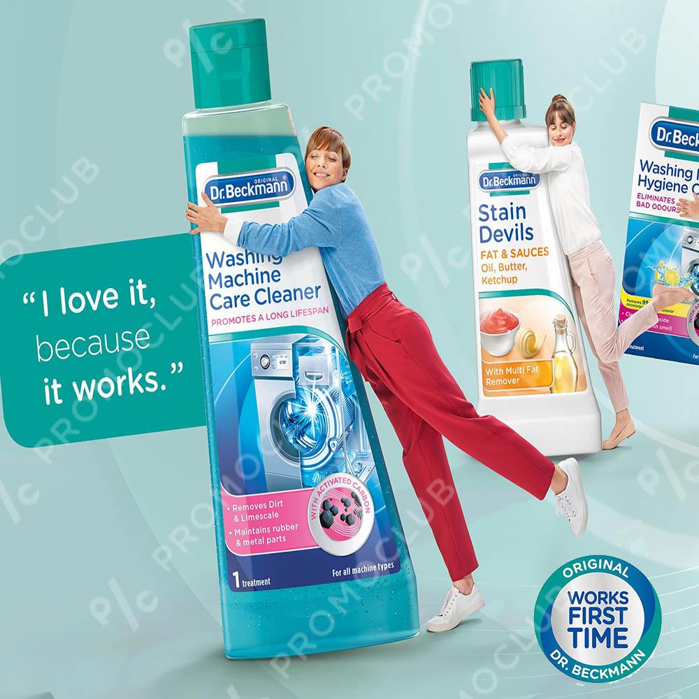 ТОП парфюм за пране Dr. Beckmann аромат РОЗА, 250 мл. за перални машини